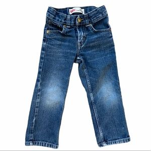 🍉 4/$25 Levis Toddler Boy 514 Slim Straight Jeans